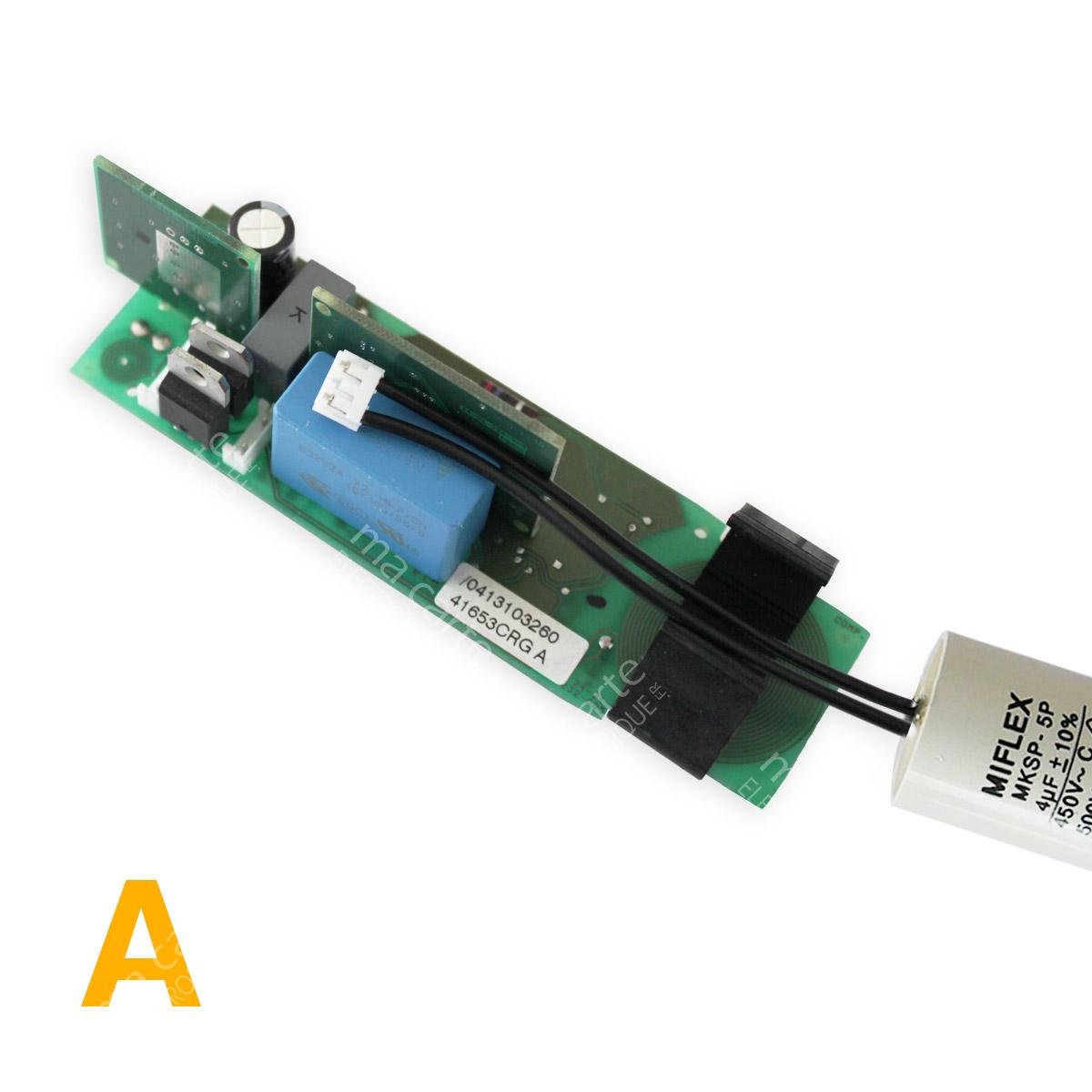 Condensateur 4uf 4µf Compatible 3 5uf Moteur Volet Bubendorff Avec Connecteur Ma Carte Electronique
