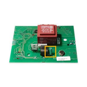 Condensateur 4,7uF 100V (compatible 63V) moteur volet Bubendorff