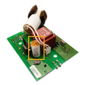 Condensateur 470nF (0,47uF) 253V pour moteur volet Bubendorff