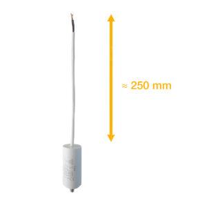 Condensateur 16uF (µF) ICAR Ecofill WB 40160 démarrage / permanent pour moteur