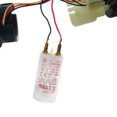 Condensateur 3,5uF (compatible 3,3µF) pour moteur de volet / store SOMFY et SIMU – Cosses Faston 2,8mm
