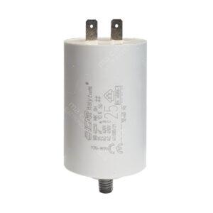 Condensateur 25uF (µF) ICAR Ecofill WB 40250 démarrage / permanent pour moteur – Cosses Faston 6,3mm