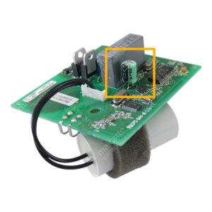 Condensateur 220uF 35V (compatible 25V) pour moteur volet Bubendorff
