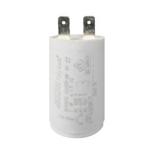 Condensateur 3uF/3µF ICAR Ecofill MLR25PRL démarrage / permanent pour moteur – Cosses Faston 6,3mm