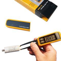Multimètre numérique – Testeur ergonomique de condensateur, résistance et diode