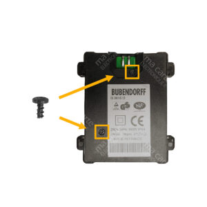 Vis Torx® T20H 6,5mm pour moteur de volet Bubendorff – Lot de 2