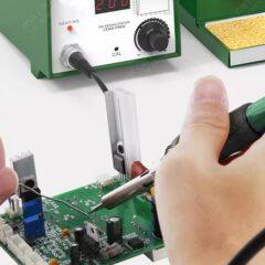 Station de soudage numérique 75W avec fer à souder antistatique et support