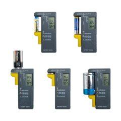 Testeur de pile / batterie 1,2V à 9V – AAA, AA, C, D, PP3 et piles bouton