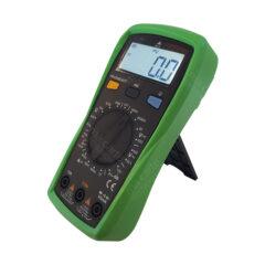 Multimètre numérique avec capacimètre (mesure condensateur) et rétroéclairage